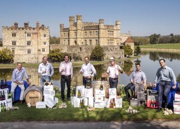 The Launch of The Wine Garden of England